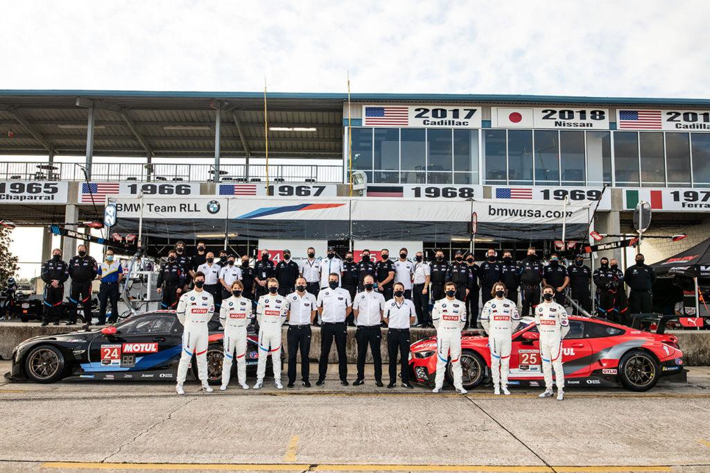 IMSA | BMW vince la Michelin Endurance Cup alla 12 Ore di Sebring