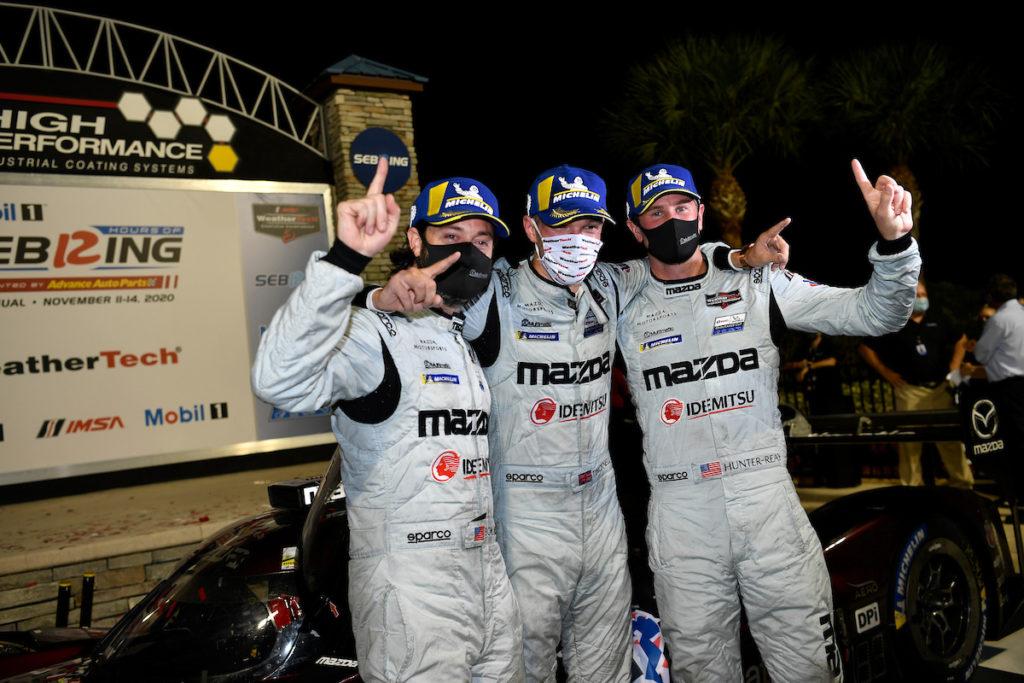IMSA   12 Ore di Sebring, Gara: primo successo di Mazda, titolo all'Acura di Castroneves-Taylor