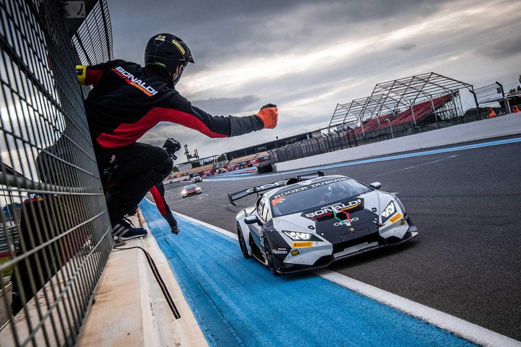 Lamborghini Super Trofeo   Stoneman ottiene il titolo a Le Castellet con Bonaldi Motorsport