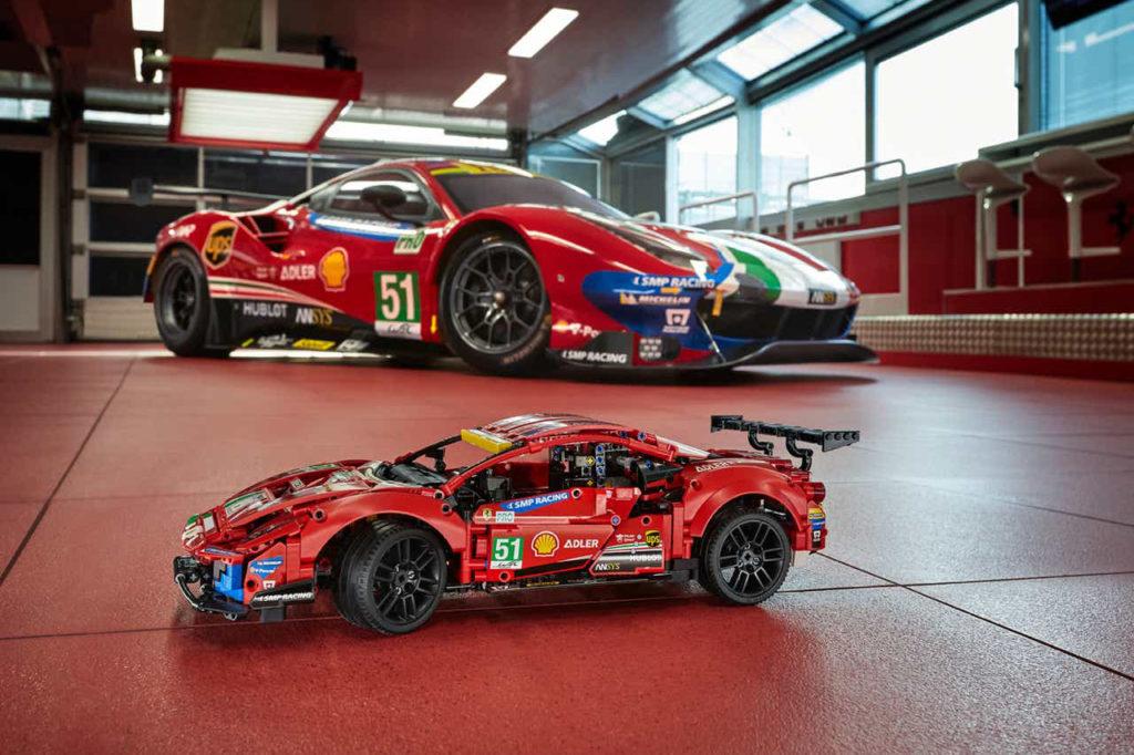 WEC | Nuova partnership tra Ferrari e LEGO: ecco la 488 GTE di AF Corse [VIDEO]