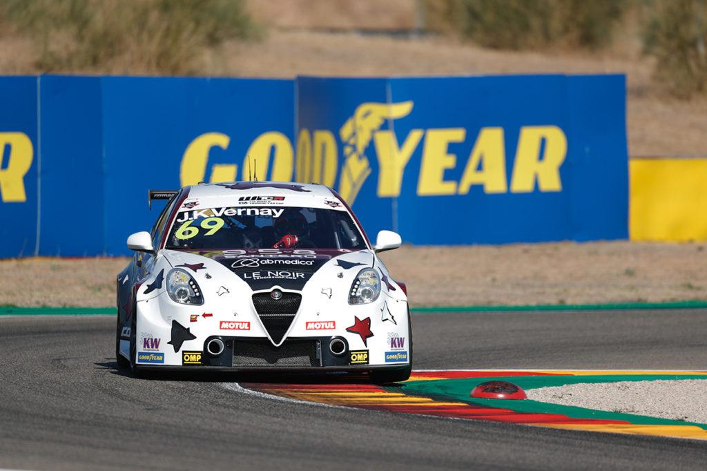 WTCR | Aragon, Gara 1: primo acuto stagionale di Alfa Romeo con Vernay