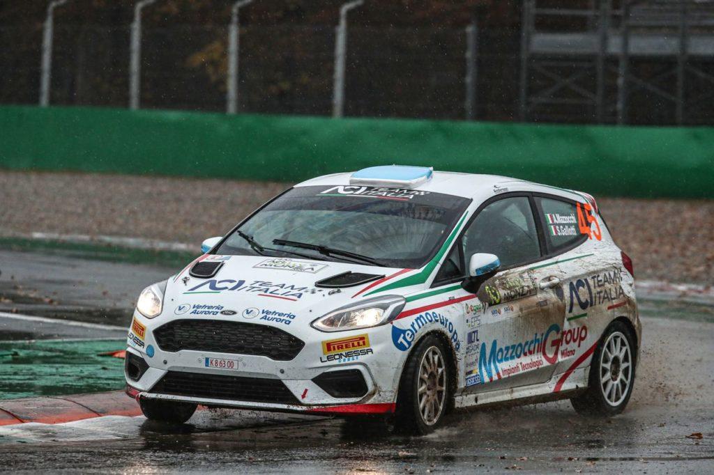 Con il dominio all'ACI Rally Monza Mazzocchi e Gallotti chiudono in gloria il loro CIR Junior 2020
