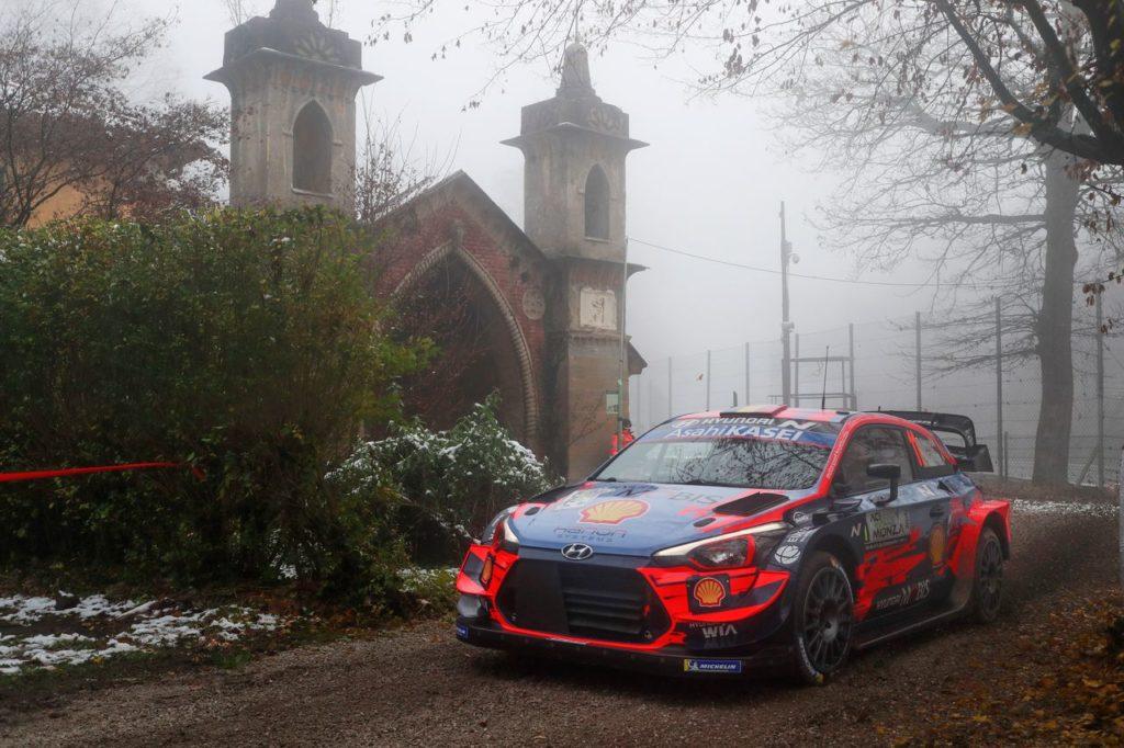 WRC | ACI Rally Monza, shakedown: Neuville e Tanak al comando, arranca Evans