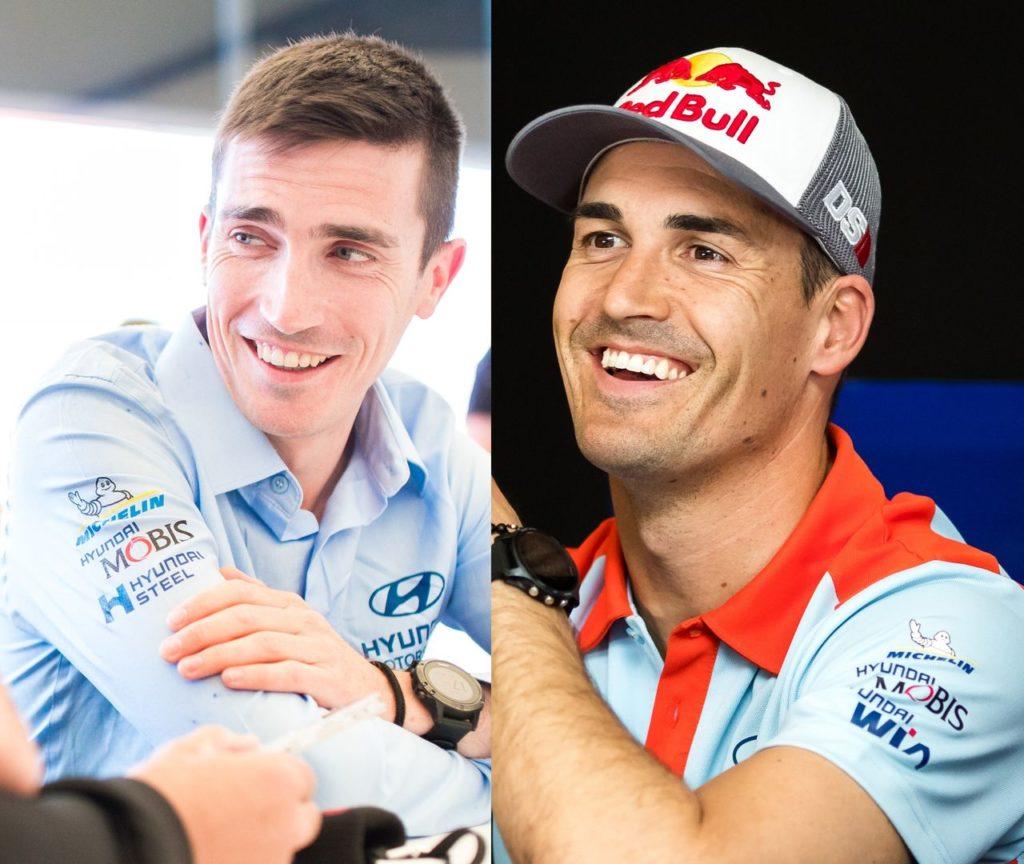 WRC   Sordo e Breen completano la line up 2021 di Hyundai Motorsport