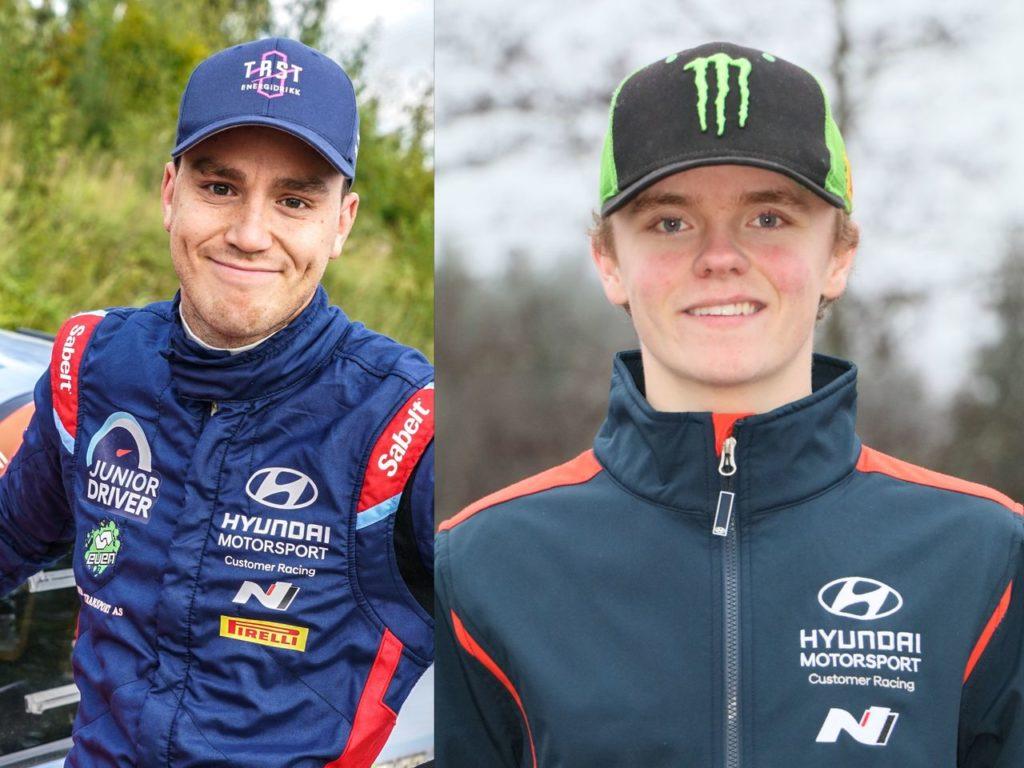 WRC2 | Hyundai conferma Veiby, e rilancia ingaggiando Oliver Solberg. Nel 2021 correranno anche con la nuova i20 Rally2