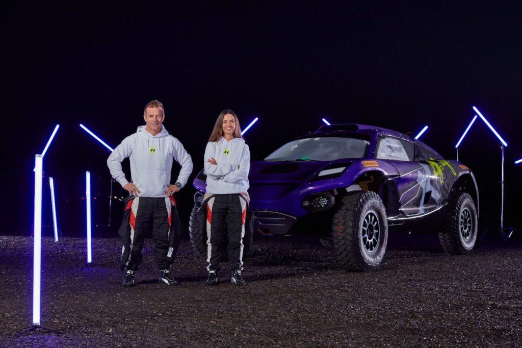 Extreme E | Il team di Lewis Hamilton accoglie Sebastien Loeb e Cristina Gutierrez