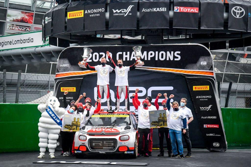 WRC2 | Mads Ostberg e la Citroen C3 R5 ce l'hanno fatta: conquistato il titolo mondiale di categoria