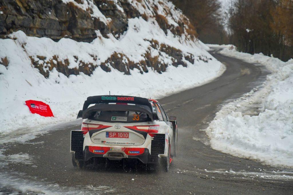 WRC | I commenti sui test pre Rallye Monte Carlo da Toyota Gazoo Racing