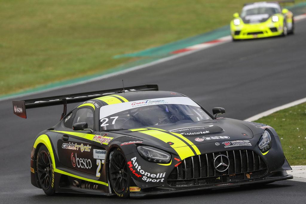 CIGT | Vallelunga, Qualifiche: Spinelli e Ferrari arraffano le pole con la Mercedes di Antonelli