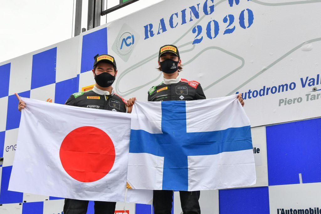 CIGT | Vallelunga, Gara 2: Tujula-Nemoto si laureano campioni della Sprint con Lamborghini