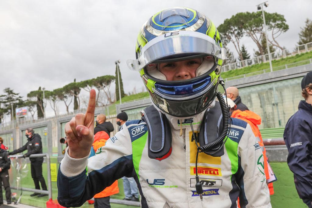 F4 Italia | Vallelunga, Gara 1: prima vittoria tricolore per Bearman con US Racing