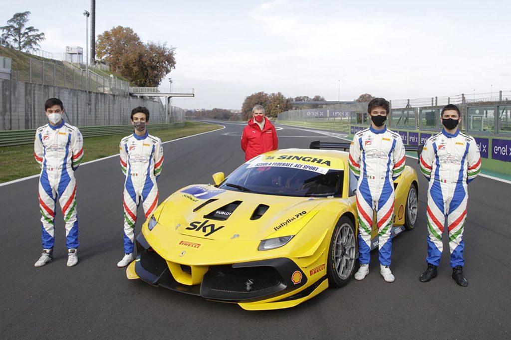 Ferrari Challenge | Una Rossa protagonista nel Supercorso Federale ACI Sport