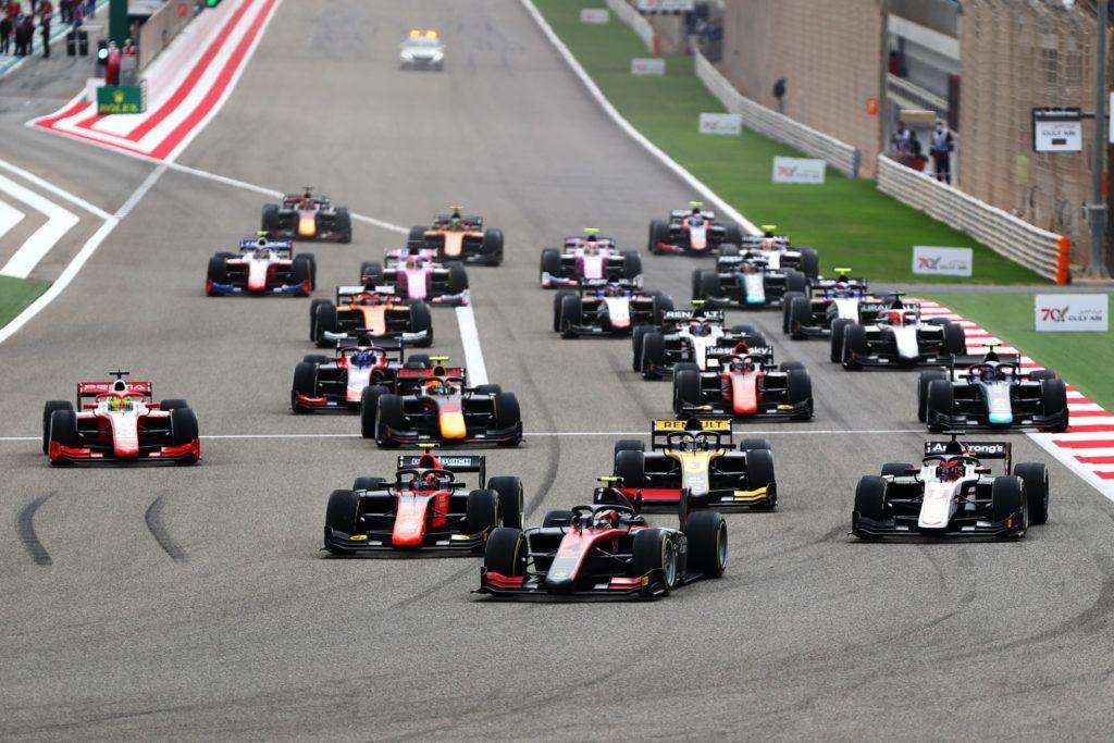 Nuovo format per le griglie di partenza della Formula 2 e della Formula 3 nel 2021
