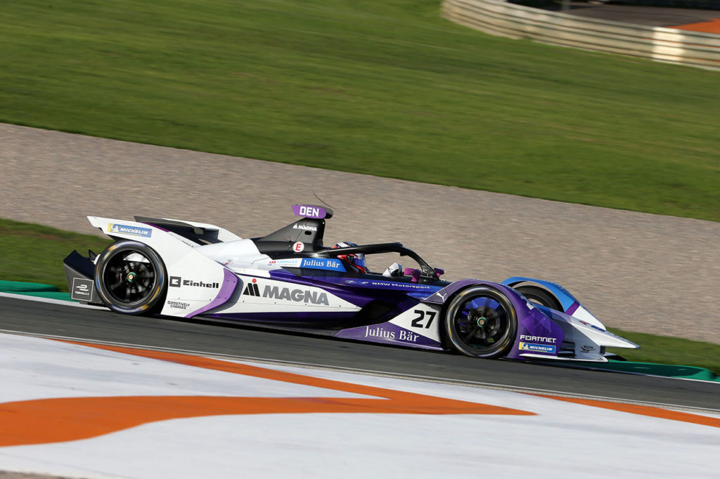 Formula E | BMW soddisfatta dei test di Valencia, Guenther il più veloce in classifica