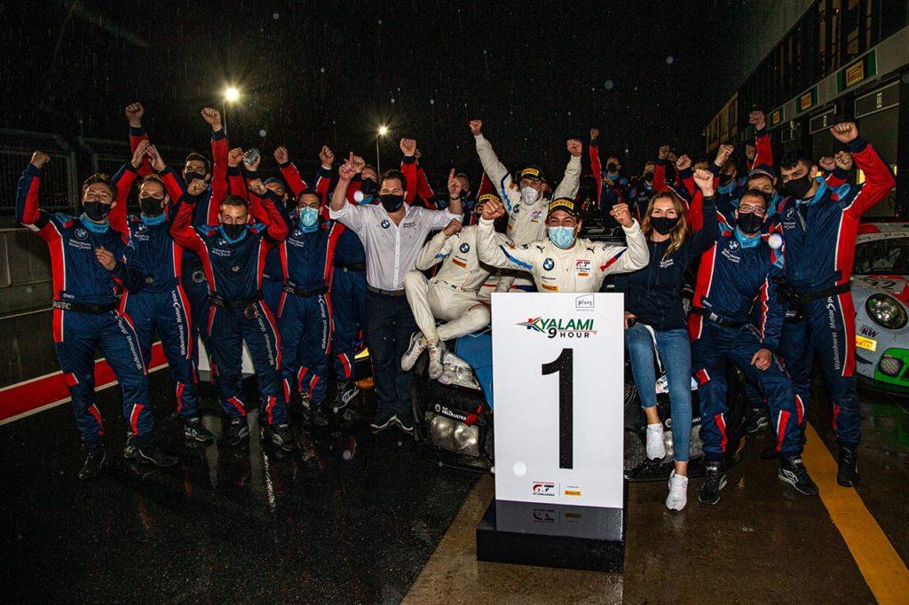IGTC | La pioggia e la fortuna premiano BMW alla 9 Ore di Kyalami