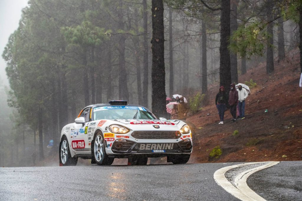 Abarth Rally Cup, ufficializzato il calendario 2021