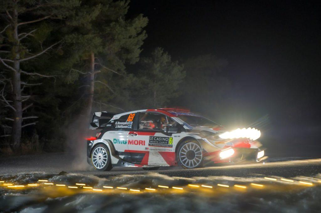 WRC | Rallye Monte Carlo 2021, la giornata: Toyota inarrestabile, Ogier leader, si ritira Tanak