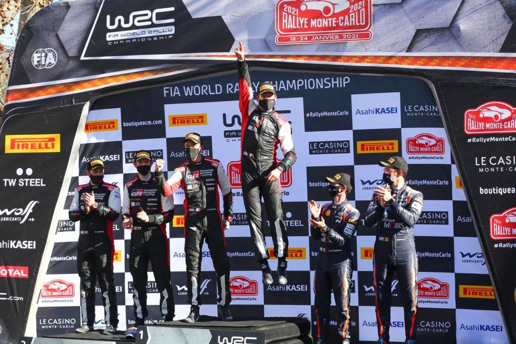 WRC | Debutto da sogno per il nuovo team principal Latvala: i commenti Toyota dopo il successo al Rallye Monte Carlo