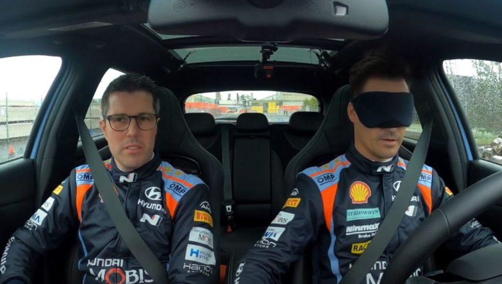 WRC | Test Rallye Monte Carlo: imprevisto per Ogier. Gli Hyundai provano la fiducia reciproca… bendati [VIDEO]