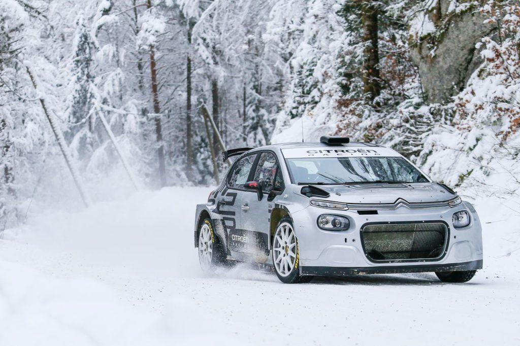 WRC | La spedizione Citroen al Rallye Monte Carlo e il debutto della nuova C3 Rally2