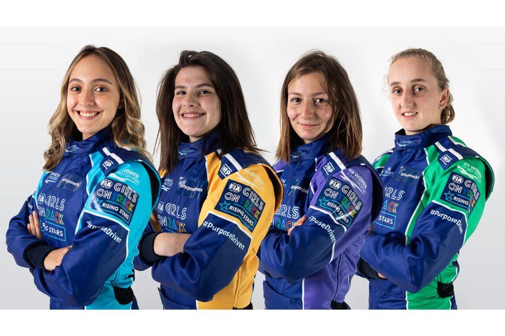 FIA Girls on Track: ecco le quattro finaliste del programma della Ferrari Driver Academy