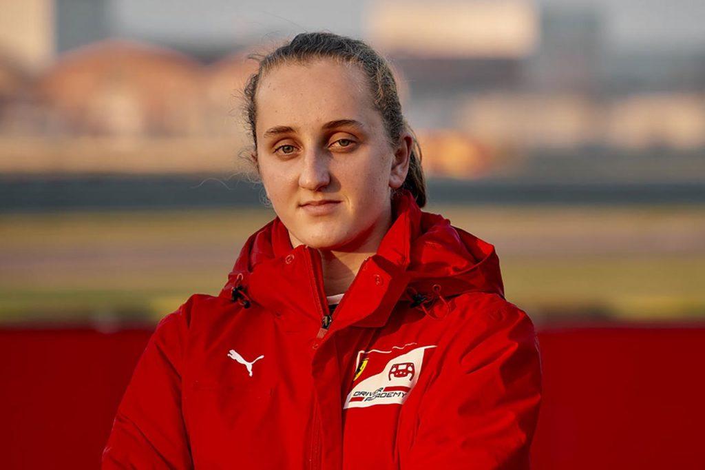 FIA Girls on Track: Maya Weug è la nuova promessa della Ferrari Driver Academy