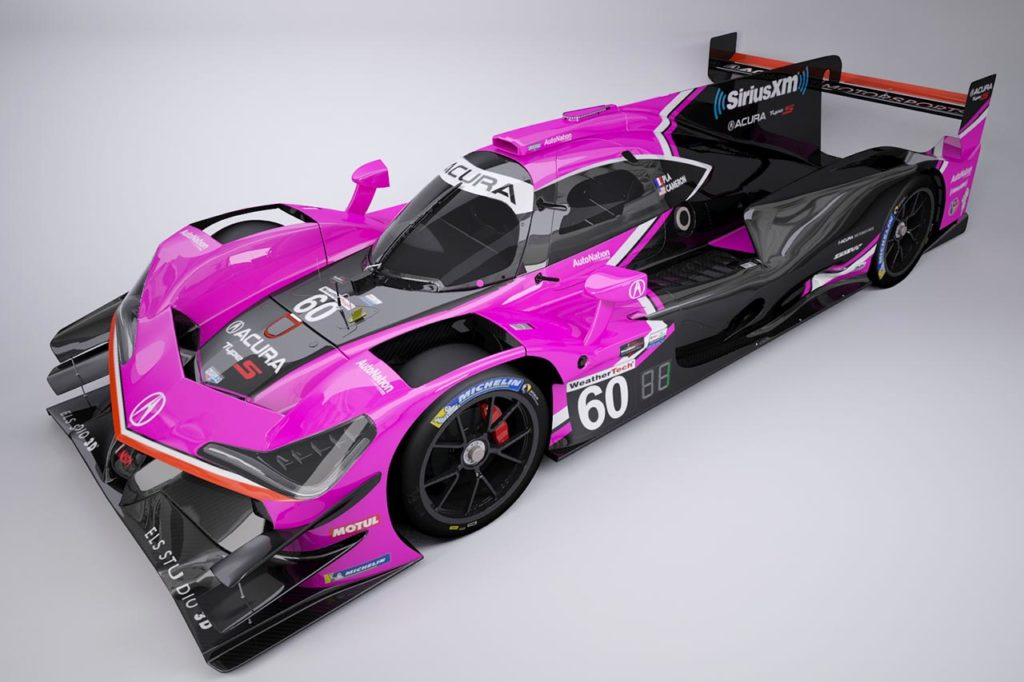 IMSA | Svelata la nuova livrea per l'Acura DPi di Meyer Shank Racing