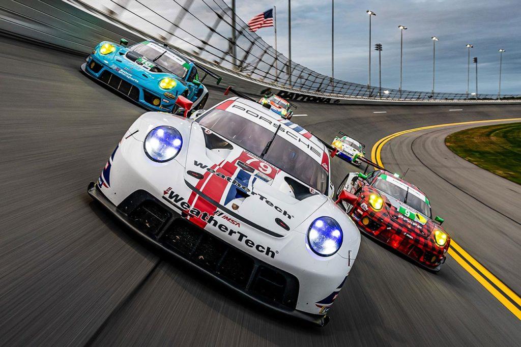 IMSA | I team clienti Porsche pronti all'assalto della 24 Ore di Daytona