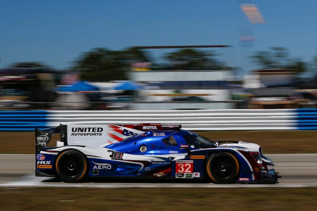 IMSA | United Autosports iscritta alla prossima 12 Ore di Sebring con una LMP2