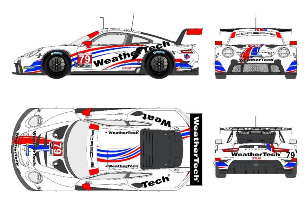 IMSA | WeatherTech sceglie una Porsche per la classe GTLM, supportata da Proton