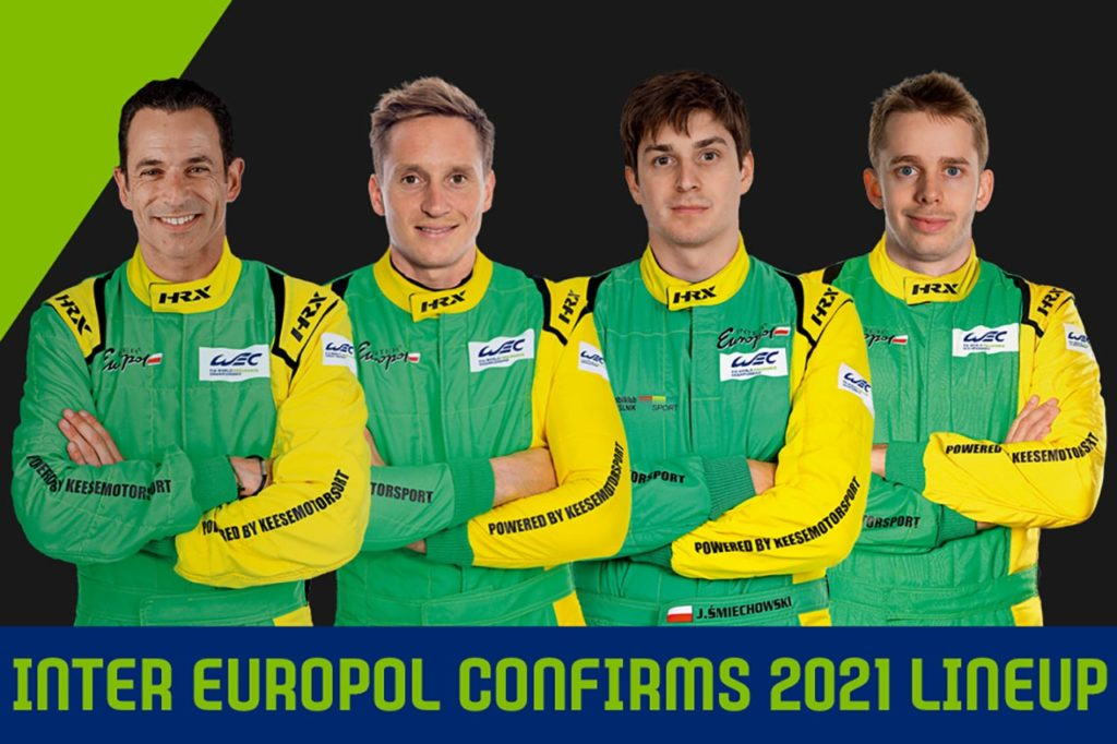 WEC | Inter Europol Competition svela la line-up 2021: ecco Brundle, van der Zande e Smiechowski (più Castroneves)
