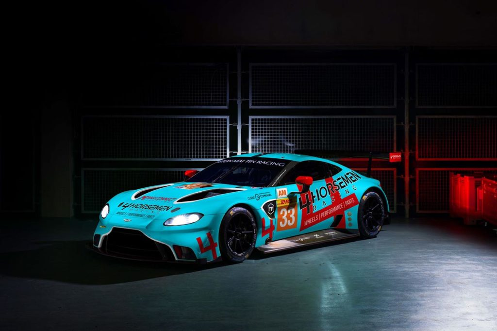 WEC | Keating sceglie l'Aston Martin di TF Sport, con lui Fraga e Pereira