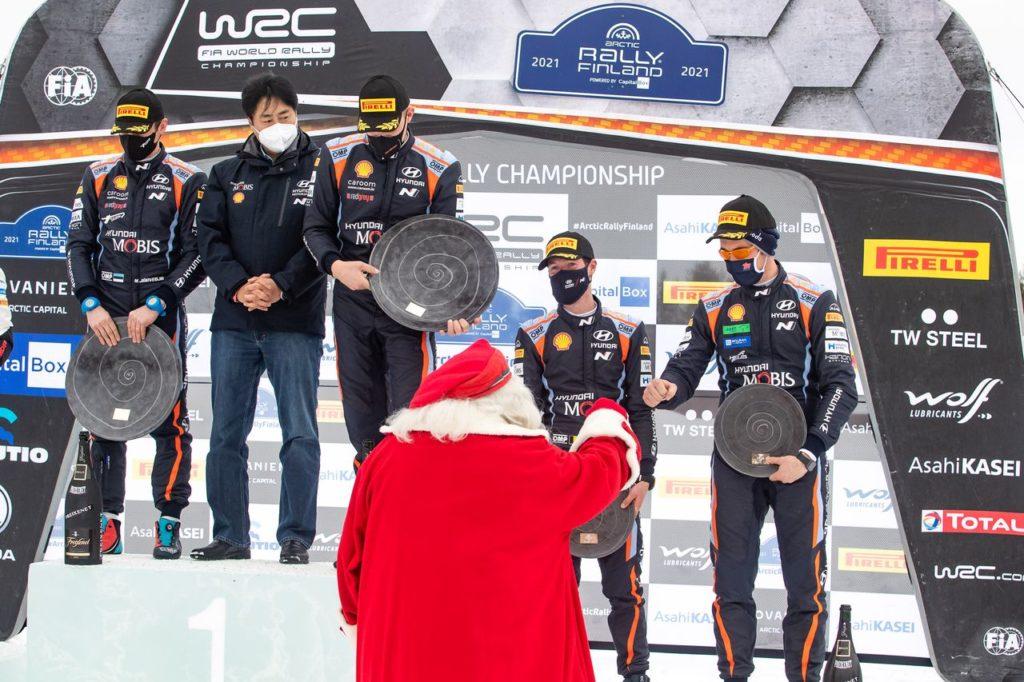 WRC   Il successo di Hyundai all'Arctic Rally con Tanak. E Adamo plaude alle nuove leve