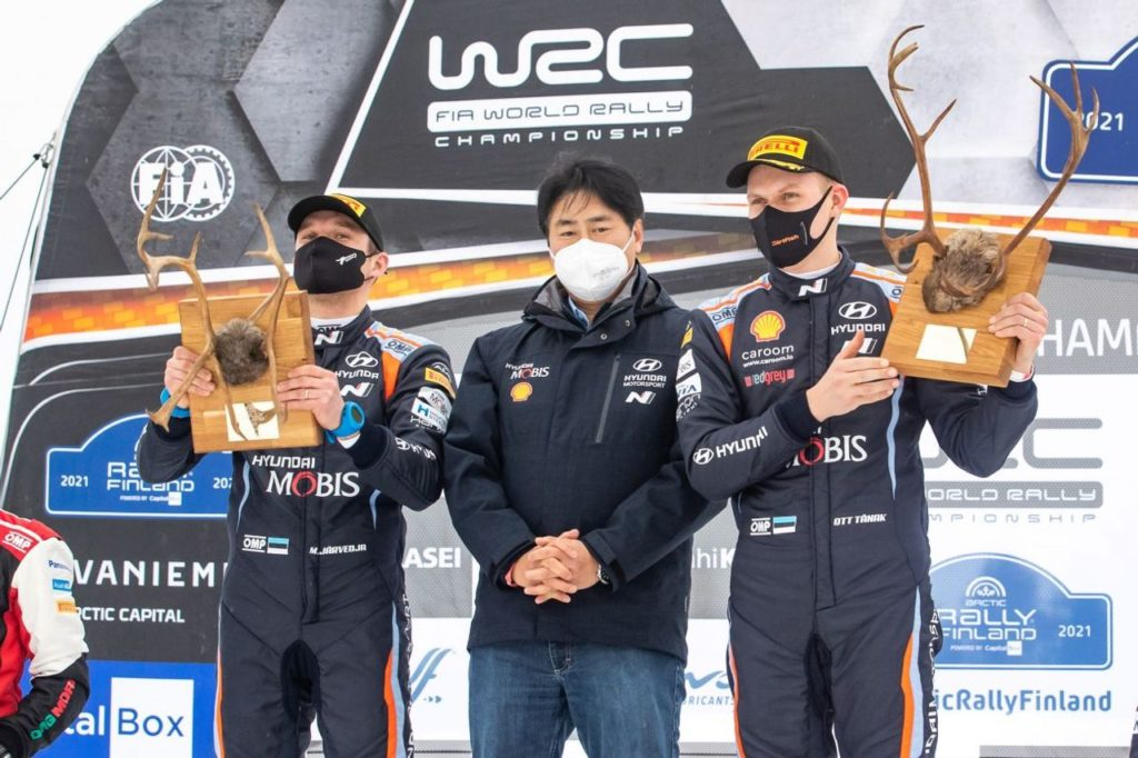 WRC | Ott Tanak stravince l'Arctic Rally Finland 2021. Rovanpera nuovo leader di campionato