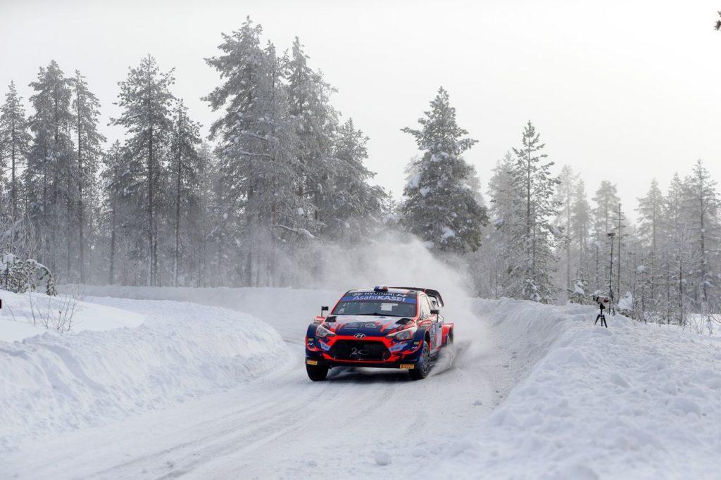 WRC | Arctic Rally Finland, shakedown: miglior tempo per Tanak, imprevisto per Neuville