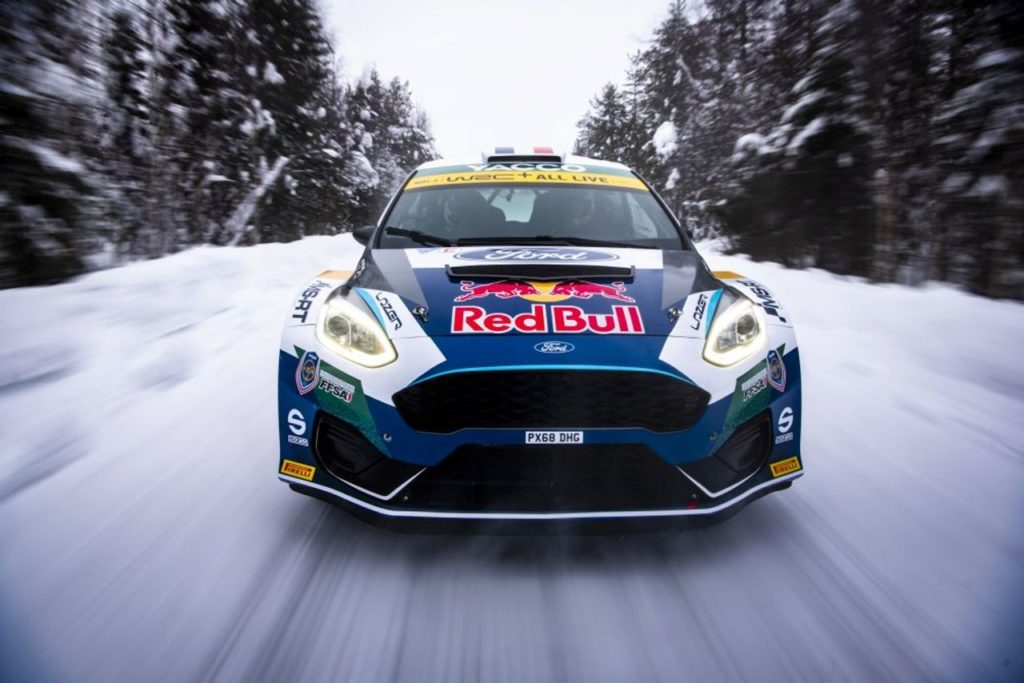WRC | M-Sport cerca il riscatto all'Arctic Rally Finland. Torna lo sponsor Red Bull, che supporterà Fourmaux