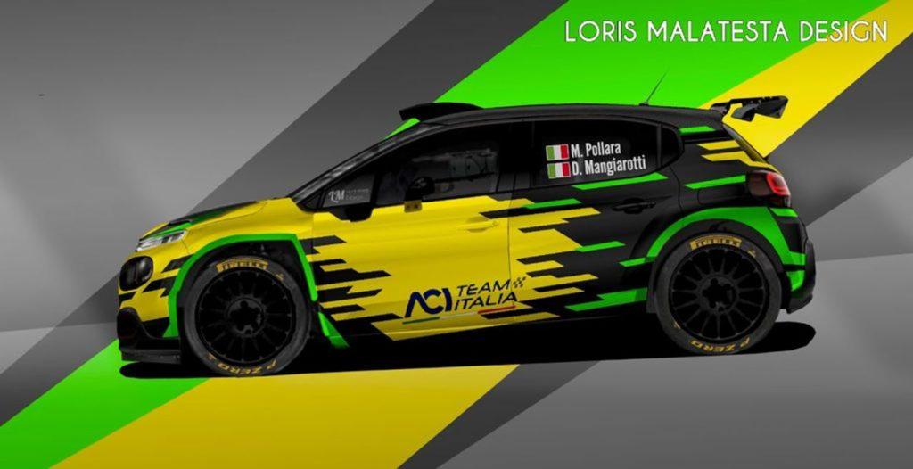 CIR | Marco Pollara ritorna nel Campionato Italiano Rally con ACI Team Italia. Esordio sulla Citroen C3 R5