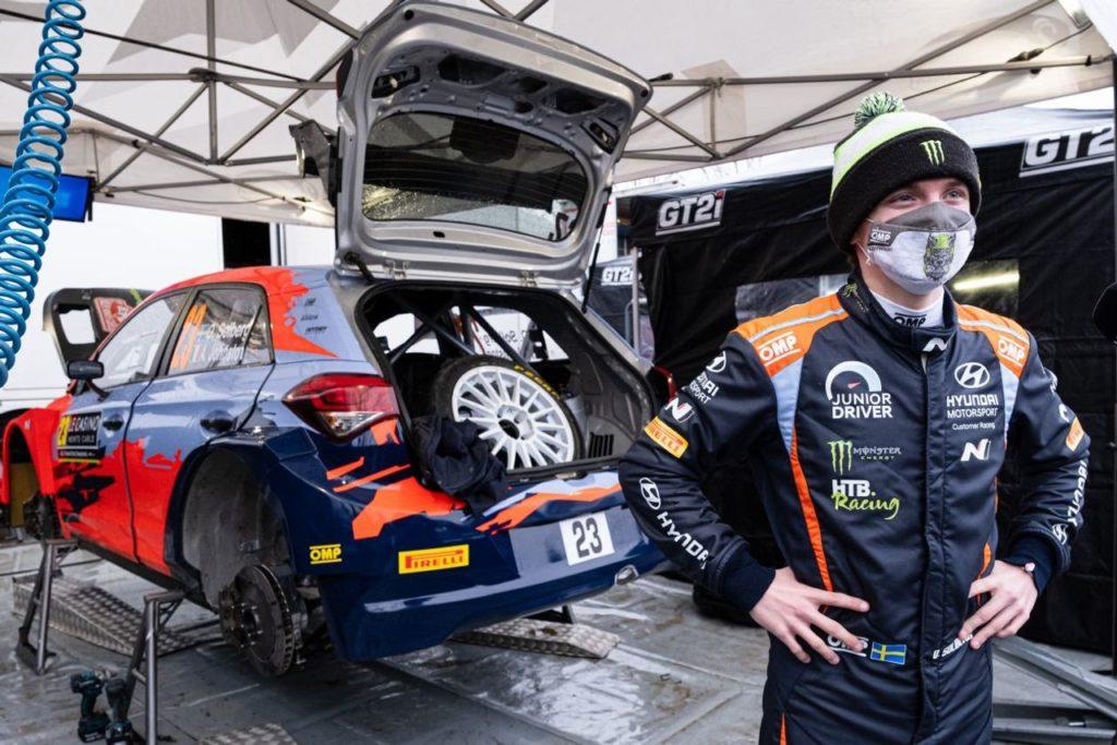 WRC | Oliver Solberg entusiasta del suo primo approccio con la Hyundai i20 WRC