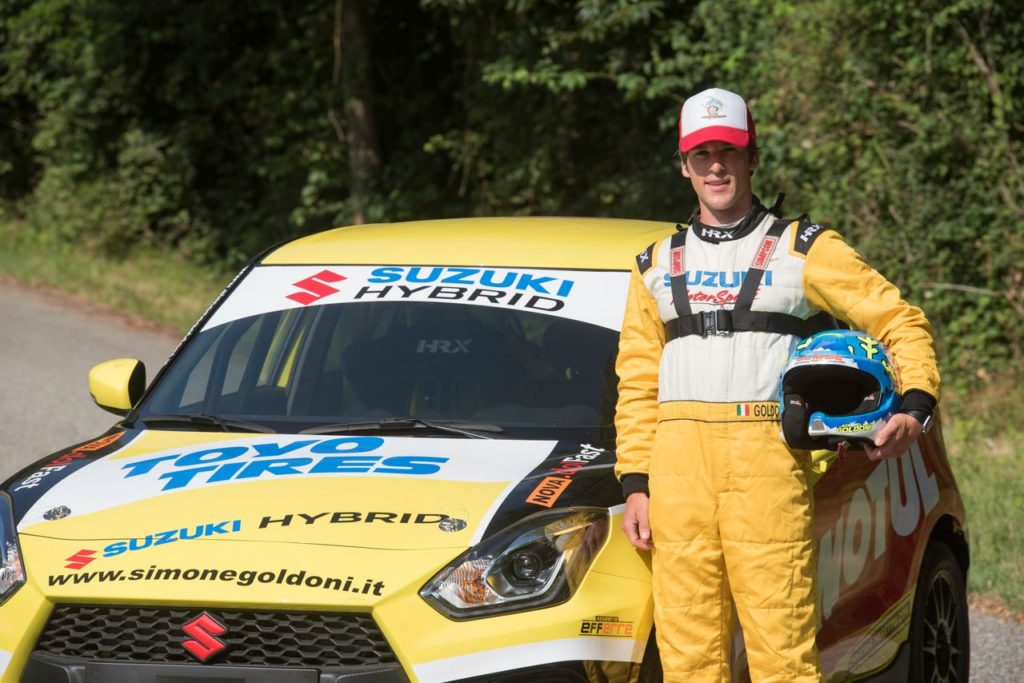 Simone Goldoni ritrova la Suzuki Swift Sport Hybrid: stagione 2021 ancora nel CIR e nel Suzuki Rally Cup
