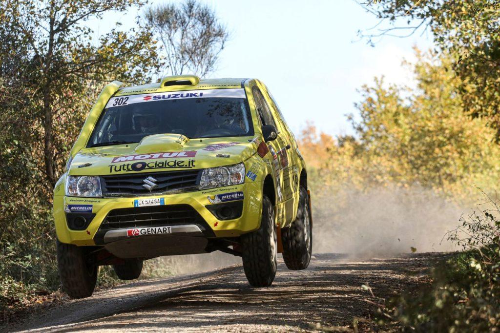 """Suzuki ancora una volta """"defender"""" con Codecà nel Campionato Italiano Cross Country. Ventiduesima edizione per il Suzuki Challenge"""