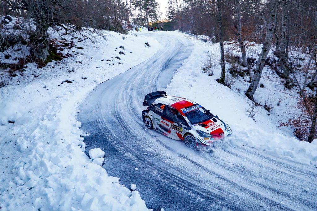 WRC | Toyota Gazoo Racing e la pressione dei favoriti all'Arctic Rally Finland