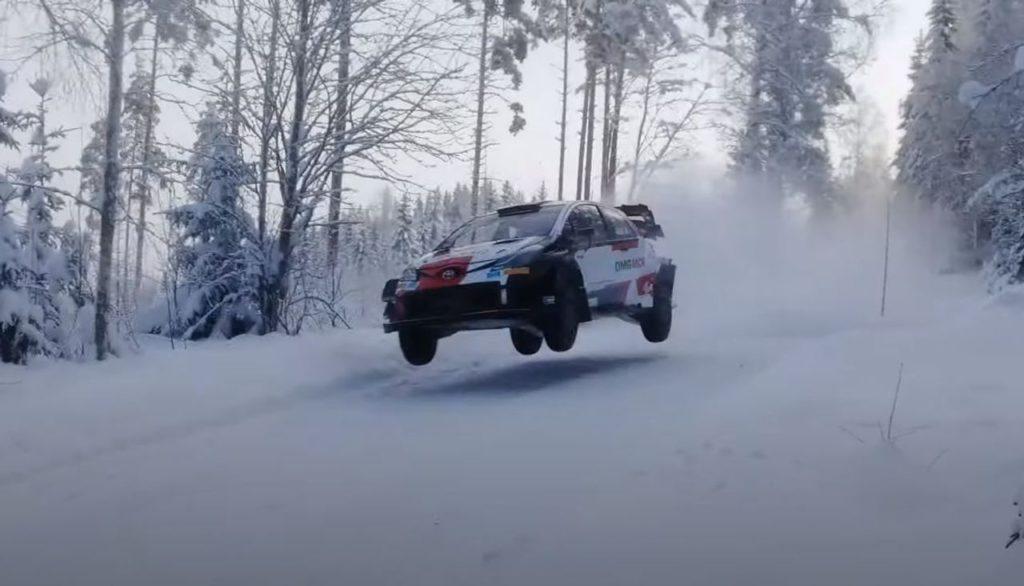 WRC | Arctic Rally Finland 2021, i test Toyota [VIDEO]