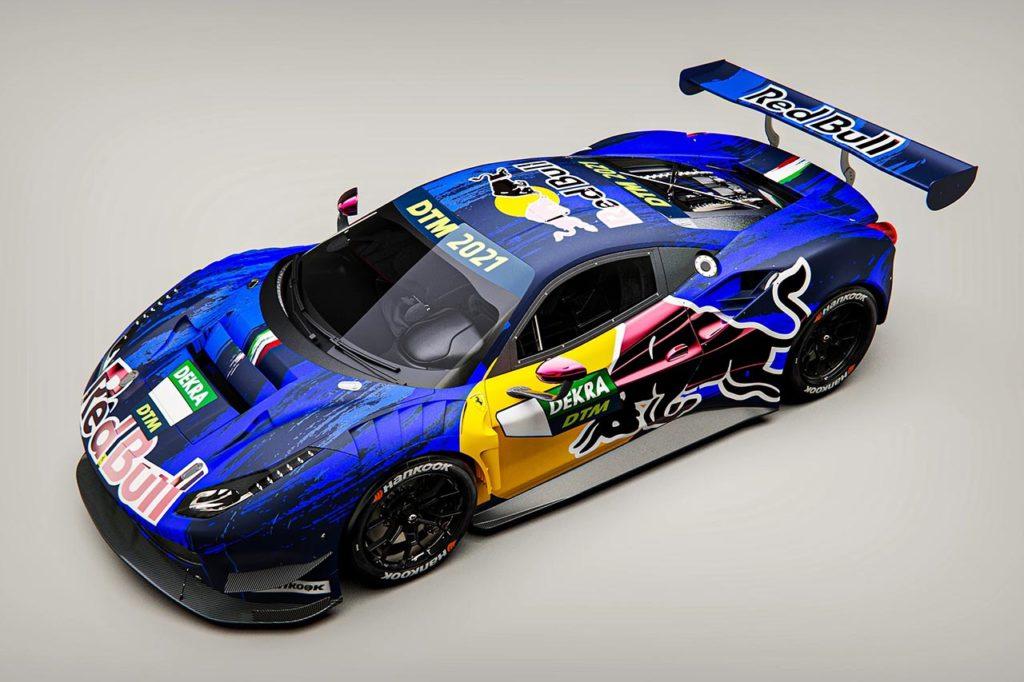 DTM | AF Corse allestirà due Ferrari marchiate Red Bull per Albon e Lawson