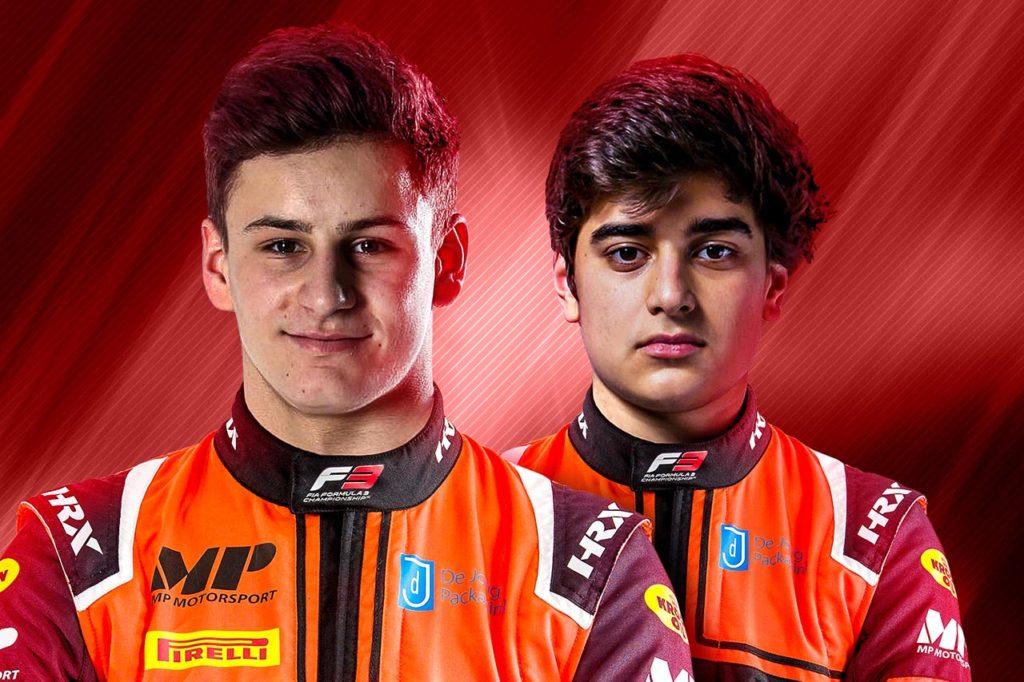F3   MP Motorsports annuncia Martins e Collet per la stagione 2021