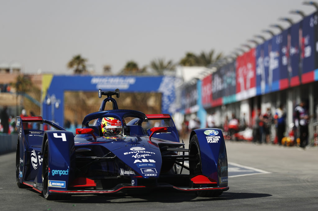 Formula E | Diriyah, Qualifiche 2: Frijns firma la pole con Virgin, Mercedes escluse dalla sessione