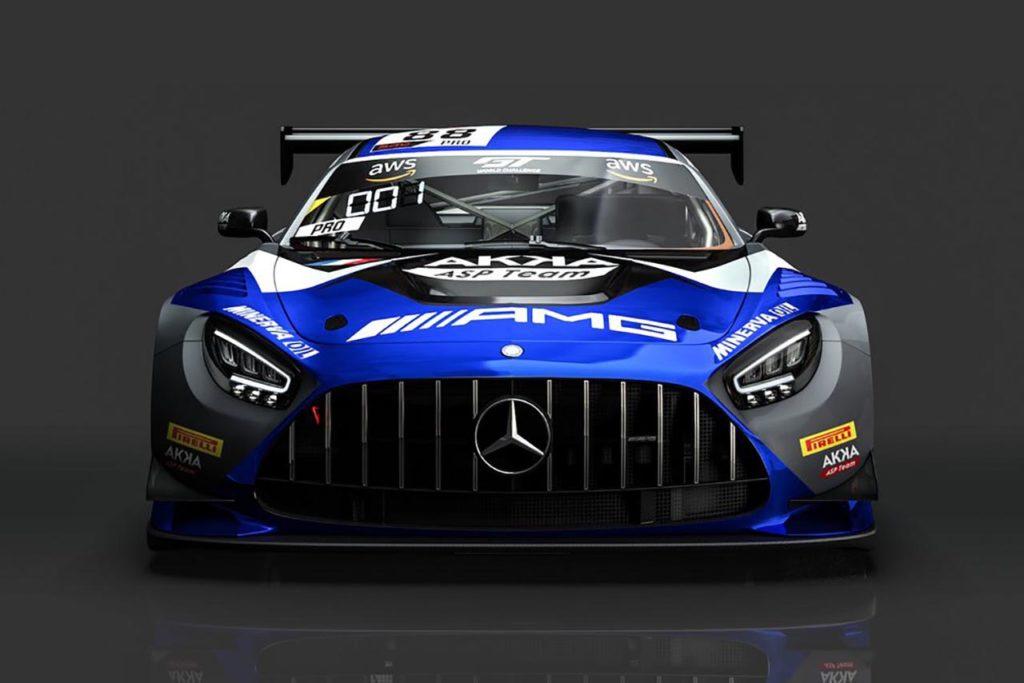 GTWC Europe | Marciello ancora con la Mercedes di AKKA ASP nel 2021