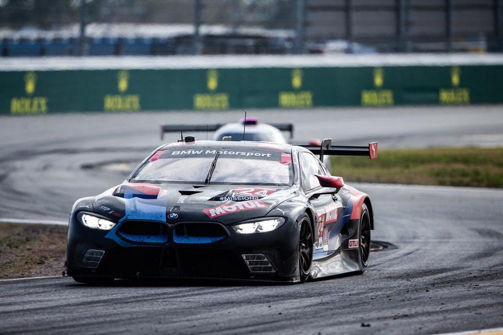 IMSA | BMW centra il podio nella classe GTLM alla 24 Ore di Daytona