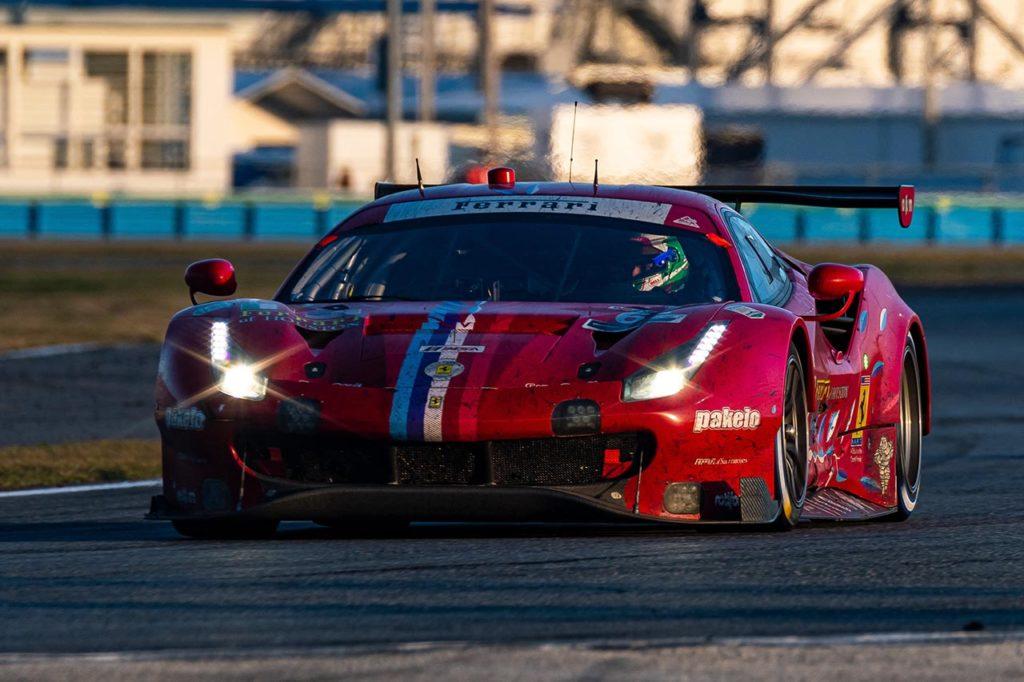IMSA   Sfuma la vittoria a Ferrari alla 24 Ore di Daytona: 4° posto in GTLM