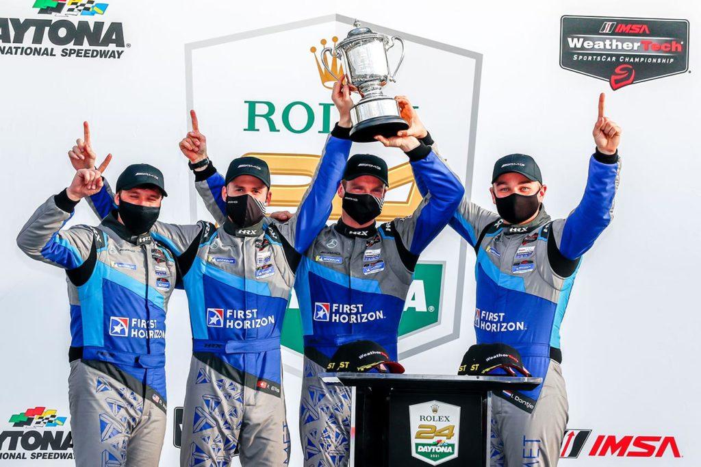 IMSA | Mercedes coglie una storica doppietta in GTD alla 24 Ore di Daytona
