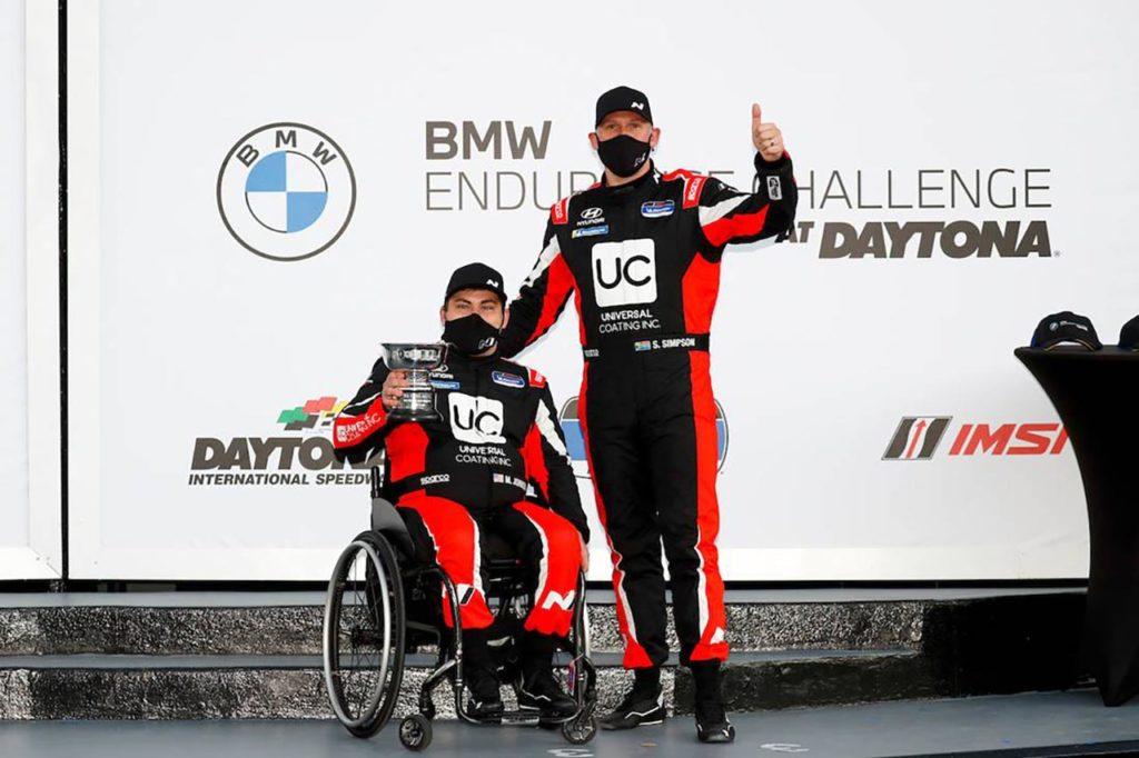 Michelin Pilot Challenge | Hyundai centra il podio nel primo round di Daytona